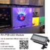 Diseño moderno 6W RGB Osram LED Ferris Wheel Light